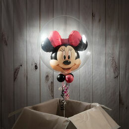 "24"" Minnie Mouse Double Bubble Balloon"