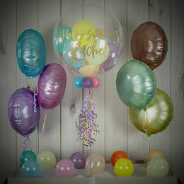 Pastel Shades Balloon Package