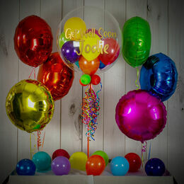 Rainbow Colours Balloon Package