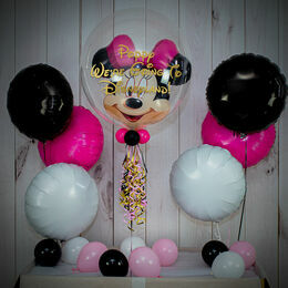 'We're Going To Disneyland' Reveal Minnie Mouse Balloon Package