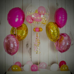 Pink & Gold Balloon Package