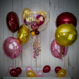 Berry Sparkle Balloon Package