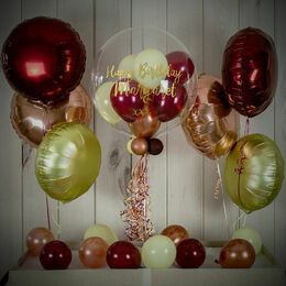Autumn Berry Balloon Package