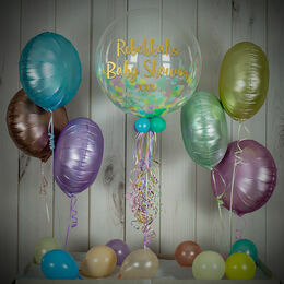 Pastel Confetti Balloon Package