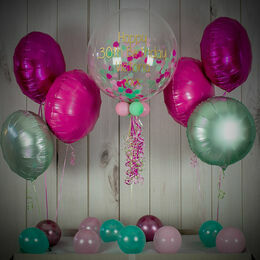 Candyfloss Confetti Balloon Package