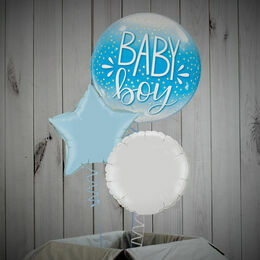 Baby Boy Printed Bubble Balloon Package