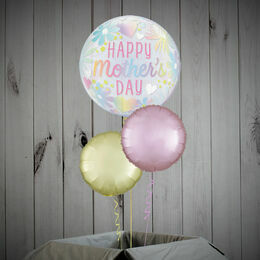 'Happy Mother's Day' Printed Bubble Balloon Package