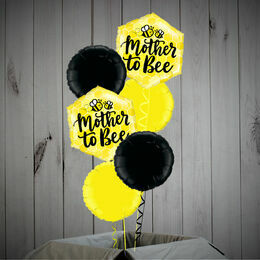 \'Mother To Bee\' Foil Balloon Set