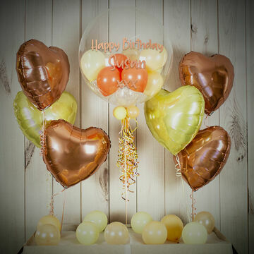 Natural Tones Balloon Package
