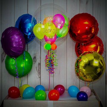 Neon Party Balloon Package