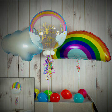 Rainbow Themed Balloon Package