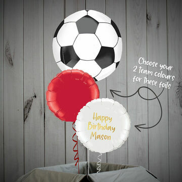 Football Themed Balloon Package