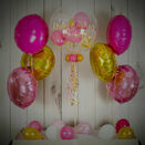 Pink & Gold Balloon Package additional 1