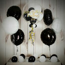 White & Black Balloon Package additional 2