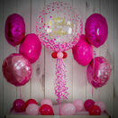 Pink Confetti Print Balloon Package additional 1