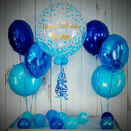 Blue Confetti Print Balloon Package additional 1