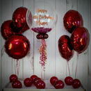 Berry Feathers Balloon Package additional 1