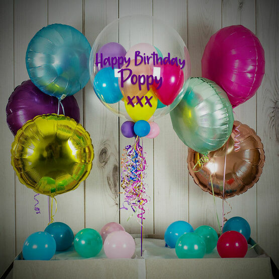 Unicorn Colours Balloon Package