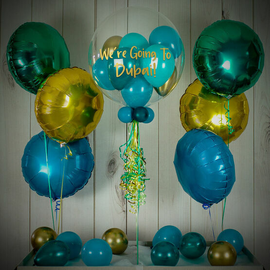 Holiday Reveal Balloon Package